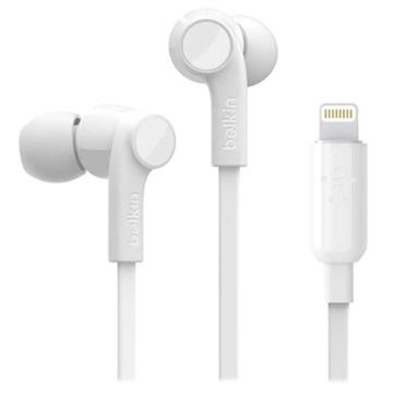 Belkin Rockstar MFI Lightning In-ear Kopfhörer - Weiß