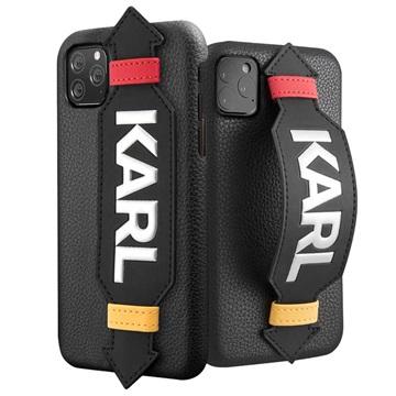 Karl Lagerfeld Strap iPhone 11 Pro Hülle - Schwarz