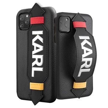 Karl Lagerfeld Strap iPhone 11 Pro Max Hülle - Schwarz