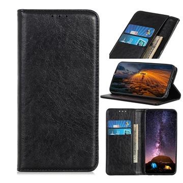 Huawei Enjoy Z 5G Wallet Hülle mit Stand - Schwarz