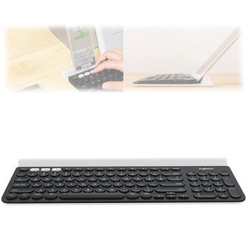 Logitech K780 Multi-Device Drahtlose Tastatur - US Layout