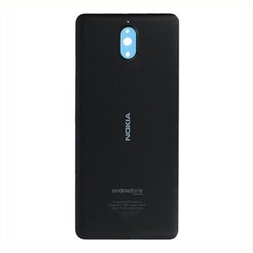 Nokia 3.1 Akkufachdeckel 20ES2BW0001 - Schwarz