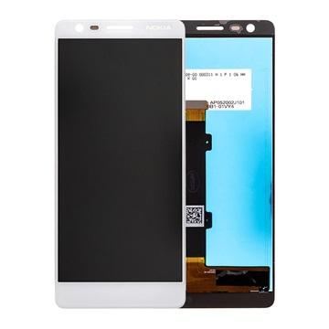 Nokia 3.1 LCD Display - Weiß