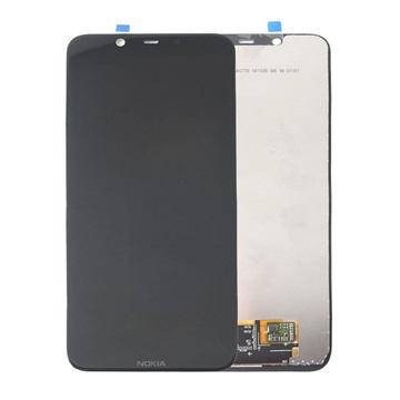 Nokia 8.1 LCD Display - Schwarz