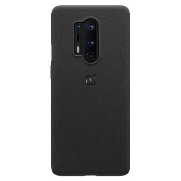 OnePlus 8 Pro Sandstone Bumper Hülle 5431100144 - Schwarz