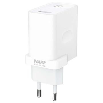 OnePlus Warp Charge 30 USB-ladegerät 5461100006 - Weiß