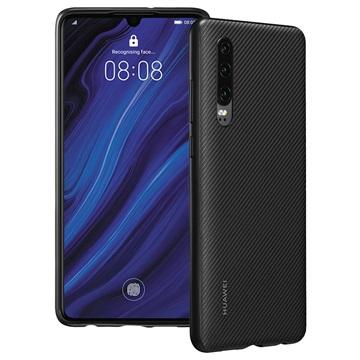 Huawei P30 PU Hülle 51992992 - Schwarz