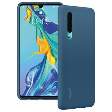 Huawei P30 Auto Silikonhülle 51992850 - Blau