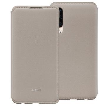 Huawei P30 Wallet Cover 51992858 - Khaki