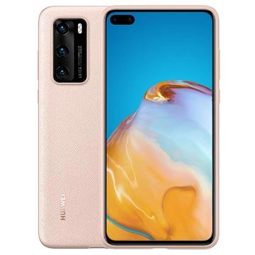 Huawei P40 PU Hülle 51993713 - Rosa