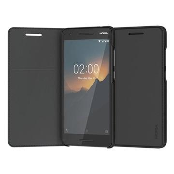 Nokia 2.1 Slim Flip Case CP-220 - Schwarz