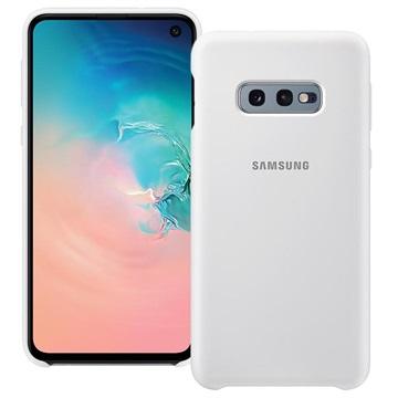 Samsung Galaxy S10e Silikon Cover EF-PG970TWEGWW - Weiß