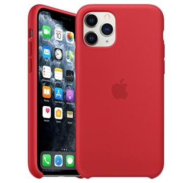 iPhone 11 Pro Apple Silikonhülle MWYH2ZM/A - Rot