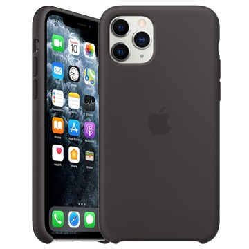 iPhone 11 Pro Apple Silikonhülle MWYN2ZM/A - Schwarz