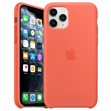 iPhone 11 Pro Apple Silikonhülle MWYQ2ZM/A - Clementine