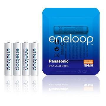 Panasonic Eneloop Aufladbare AAA Batterien BK-4MCCE/4LE - 750mAh - 1x4