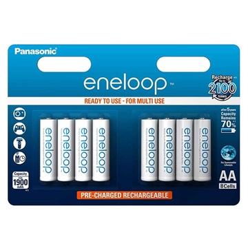 Panasonic Eneloop Wiederaufladbare AAA Batterien BK-4MCCE/8BE - 750mAh