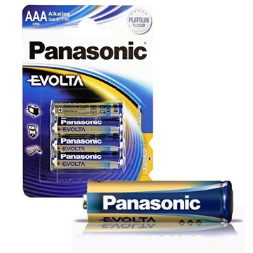 Panasonic Evolta AAA Akku LR03EGE - 1.5V - 1x4