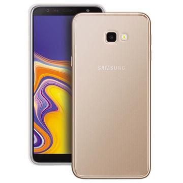 Puro 0.3 Nude Samsung Galaxy J4+ TPU Hülle - Durchsichtig