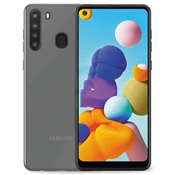 Puro 0.3 Nude Samsung Galaxy A21 TPU Hülle - Durchsichtig