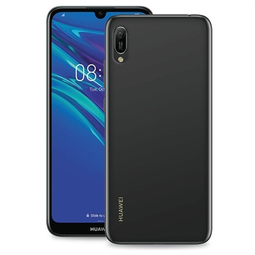 Puro 0.3 Nude Huawei Y6 (2019) TPU Hülle - Durchsichtig