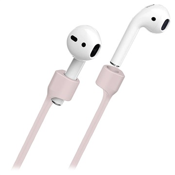 Puro Icon Magnetisches Airpods Silikonband - Rosa