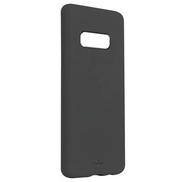 Puro Icon Samsung Galaxy S10e Silikonhülle - Grau