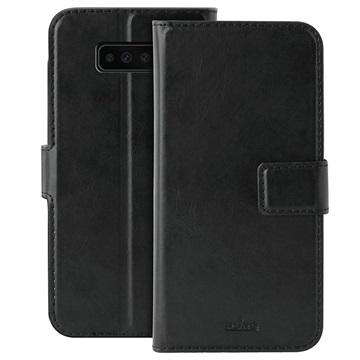 Puro Milano Samsung Galaxy S10+ Wallet Hülle - Schwarz