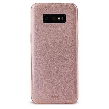 Puro Shine Samsung Galaxy S10 TPU Hülle - Roségold
