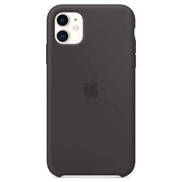 iPhone 11 Apple Silikonhülle MWVU2ZM/A - Schwarz