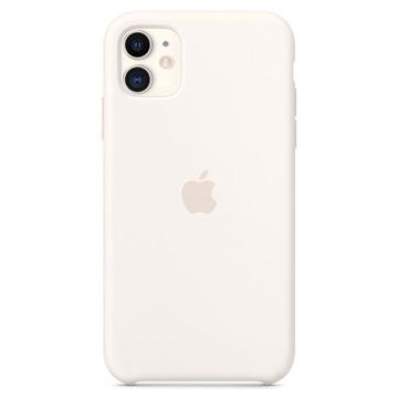 iPhone 11 Apple Silikonhülle MWVX2ZM/A - Weiß