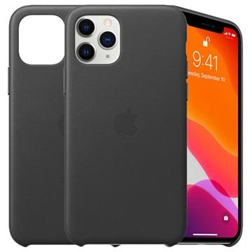 iPhone 11 Pro Apple Lederhülle MWYE2ZM/A - Schwarz