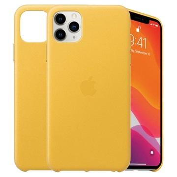 iPhone 11 Pro Max Apple Lederhülle MX0A2ZM/A - Meyer Zitrone