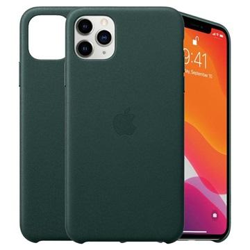 iPhone 11 Pro Max Apple Lederhülle MX0C2ZM/A - Waldgrün