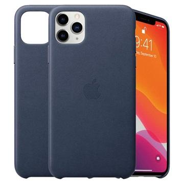 iPhone 11 Pro Max Apple Lederhülle MX0G2ZM/A - Mitternachtsblau