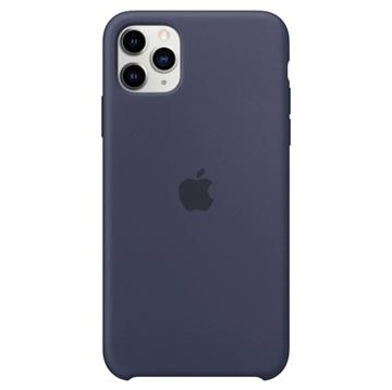 iPhone 11 Pro Max Apple Silikonhülle MWYW2ZM/A - Mitternachtsblau