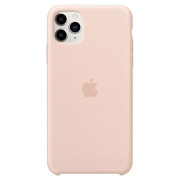 iPhone 11 Pro Max Apple Silikonhülle MWYY2ZM/A - Sandrosa
