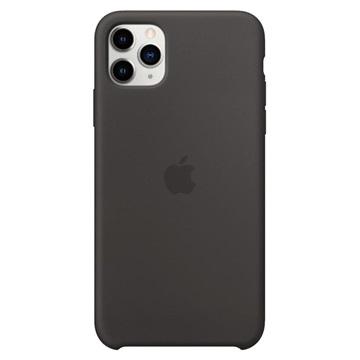 iPhone 11 Pro Max Apple Silikonhülle MX002ZM/A - Schwarz