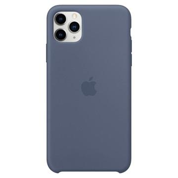 iPhone 11 Pro Max Apple Silikonhülle MX032ZM/A - Alaska Blau
