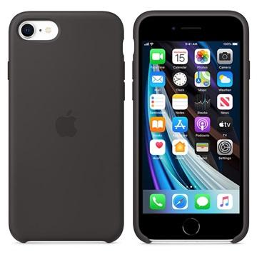 iPhone SE (2020) Apple Silikonhülle MXYH2ZM/A - Schwarz