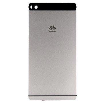 Huawei P8 Akkufachdeckel - Titanium Grau