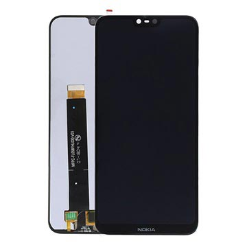 Nokia 6.1 Plus LCD Display 20DRGBW0001 - Schwarz