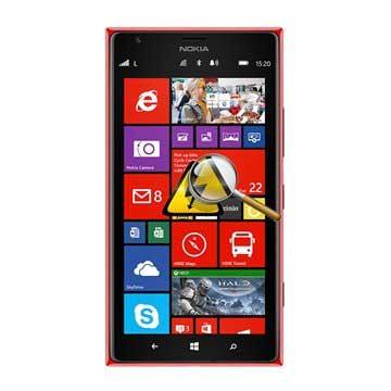 Nokia Lumia 1520 Diagnose