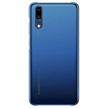 Huawei P20 Color Cover 51992347 - Blau
