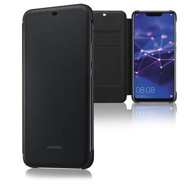 Huawei Mate 20 Lite Wallet Cover 51992567 - Schwarz