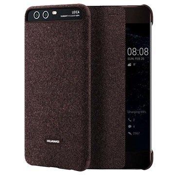 Huawei P10 Smart View Cover 51991887 - Braun