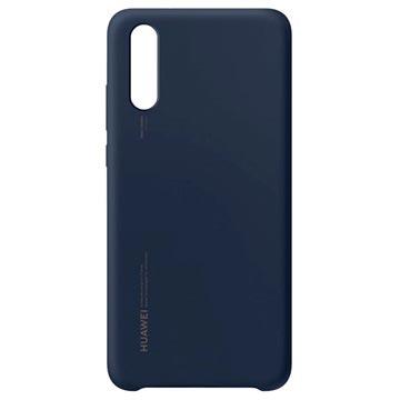 Huawei P20 Silikonhülle 51992363 - Blau