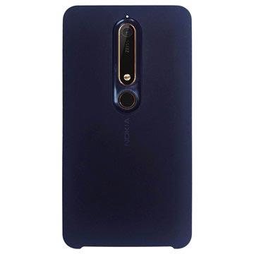 Nokia 6.1 Soft Touch Hülle CC-505 - Blau
