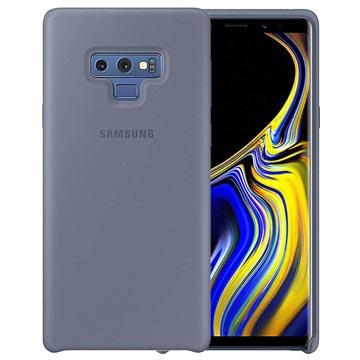Samsung Galaxy Note9 Silikon Cover EF-PN960TLEGWW - Blau