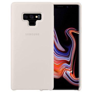 Samsung Galaxy Note9 Silikon Cover EF-PN960TWEGWW - Weiß